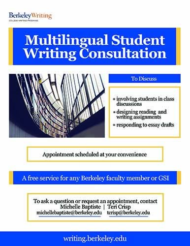 poster for MSW Consultant in fall 2017