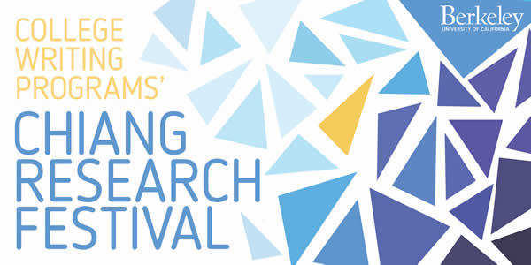 Banner for Chiang Research Festival